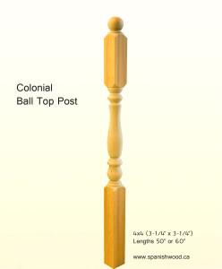 Classic Ball Top Post