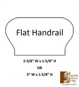 A - Flat Handrail