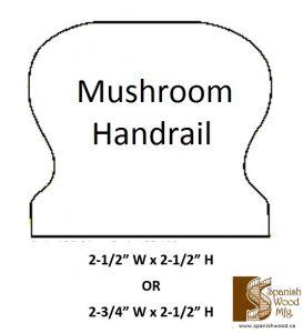 B - Mushroom Handrail