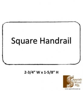 D - Square Handrail