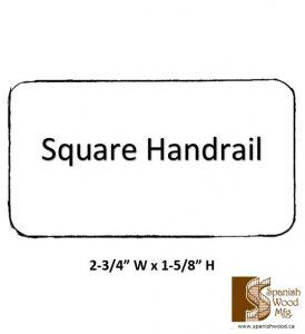 D - Square Handrail