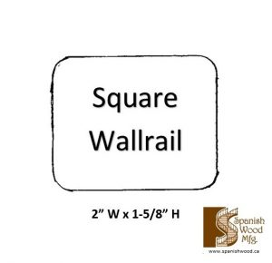 E - Square Wallrail