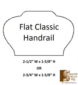 F - Flat Classic Handrail
