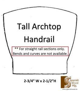 I - Tall Archtop Handrail